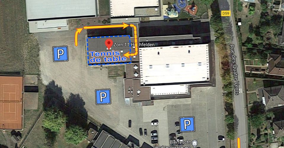 Plan Acces Salle TT 2020