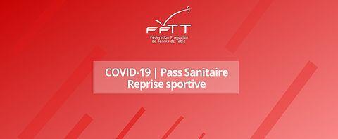 COVID-19 PASS SANITAIRE Reprise sportive