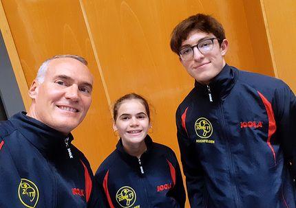 Équipe 4 AGR avec Christophe, Sophie et Nathan