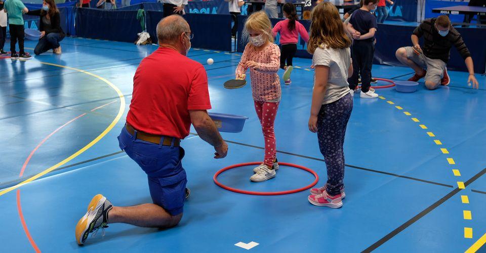 Une matinée sportive qui a rencontré beaucoup de succès chez les jeunes du CP et du CE1 de l'école de Hochfelden.